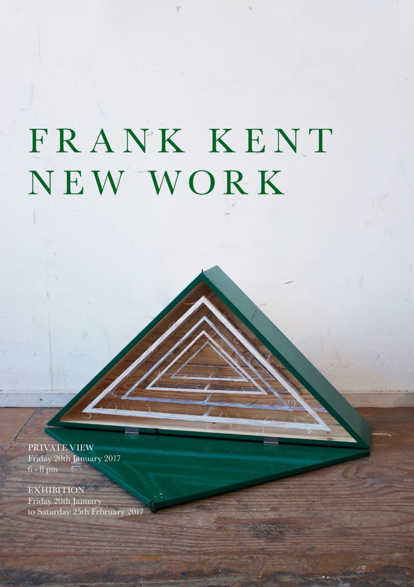 Art Events Calendar London : Frank kent new work london art events